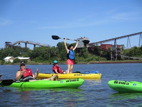Kayaking Black River