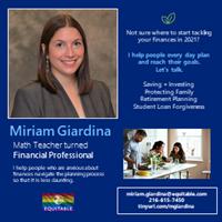 Equitable Advisors Financial Professional - Miriam Giardina
