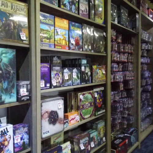 Recess Games is a board game haven