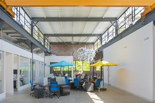 A dynamic, creative workspace