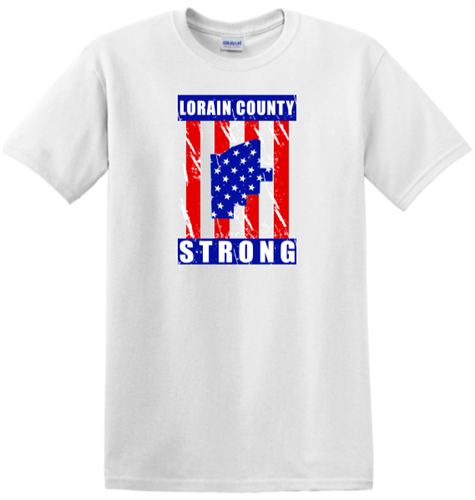 Lorain County Strong t-shirt