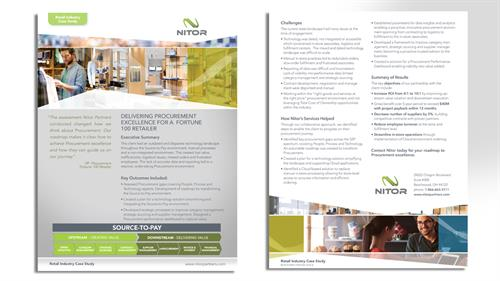 Notor Partners Service Sheets