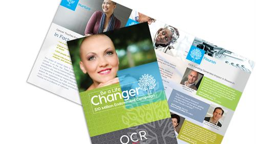 Ohio Cancer Research Capital Campaign Brochure