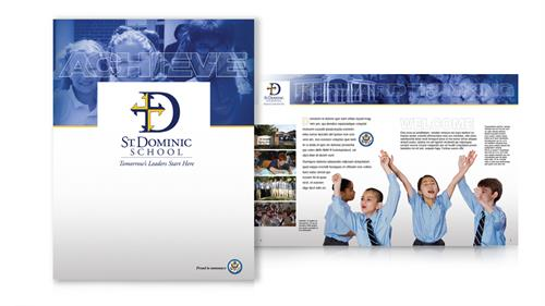 St Dominic Information Folder & Brochure