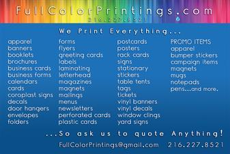 Full Color Printings