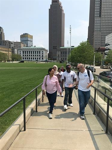 Tours of Cleveland Tri-C International Student Group
