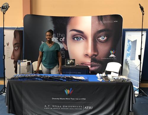 Recruitment Booth in the St. Louis area