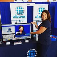 All Access Interpreters Video-Interpreting Demo.