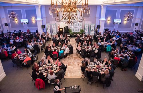 The Annual Celebration of Community and Commerce is one of the Chamber's best-attended events.