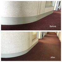 Baseboards take a beating.  Scuff marks, dirt, grime, spills....you name it!  But we can get them to look like new again!