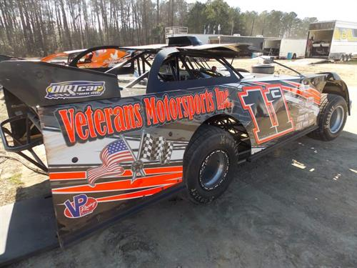 Dirt late model out of Dover , Deleware representing Veterans Motorsports Inc. Driver: Trevor Collins