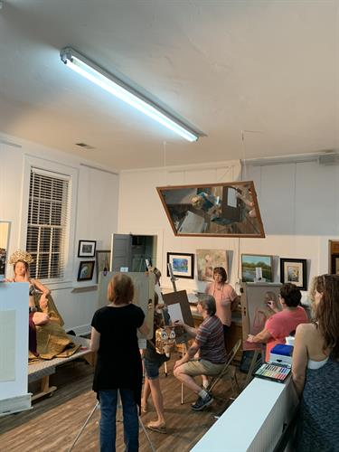 Life Drawing at Uncorked & Artsy