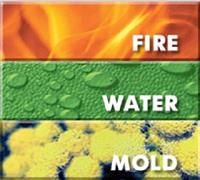 Water and Fire damage cleanup and restoration as well as mold mitigation and deodorization