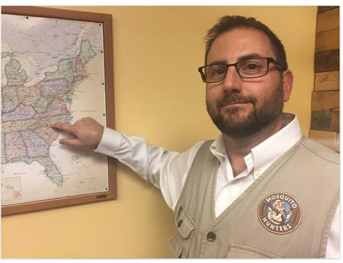 Co-Owner Brian Gore putting Mosquito Hunters on the map in Charlotte!