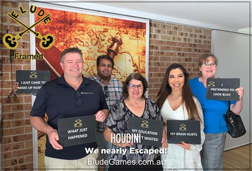 MyBoard day at Elude Escape Rooms