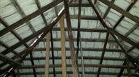 Victorian era home roof frame not constructed to take the weight of modern concrete roof tiles.……roof frame needs to be reinforced to prevent the possibility of collapse