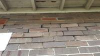 Severe erosion to lime brick morter on a 1920`s bungalow