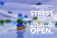Learn Mindfulness, try a workshop.