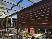 Does the sun hit your entertaining area with too much heat? would you like a nice merbau screen installed for shade and privacy? Be sure to call your local friendly Skilled Handyman 1300 312 312