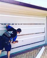 A new look for an old garage door.