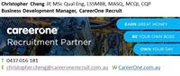 CareerOne Recruitment Partner Signature Block