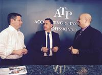 Hon John Barilaro MP and Hon Mark Coure MP visiting our office to discuss issues facing businesses