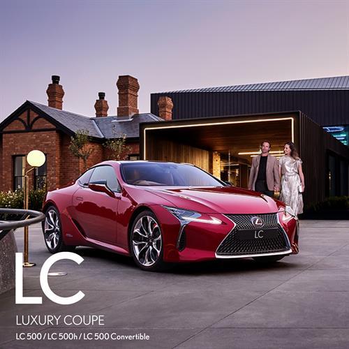 Lexus LC Flagship Luxury Coupe