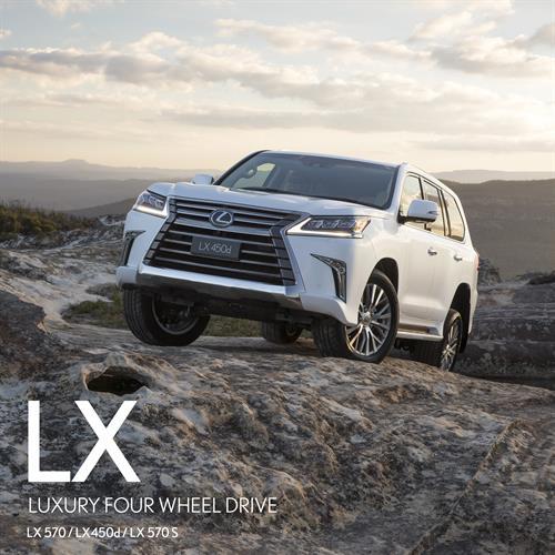 Lexus LX Flagship Luxury 4WD