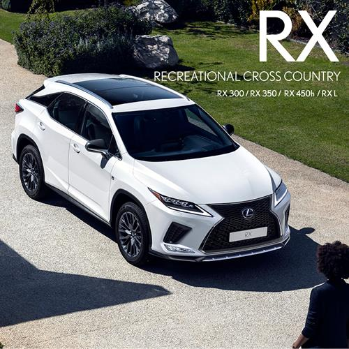 Lexus RX Large SUX available in 5 & 7 Seats