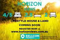 "Coming soon ""Horizon Views"" register now"