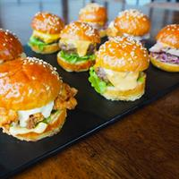 Succulent House Made Sliders