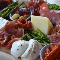 Delicious Salumi & Cheese Platter