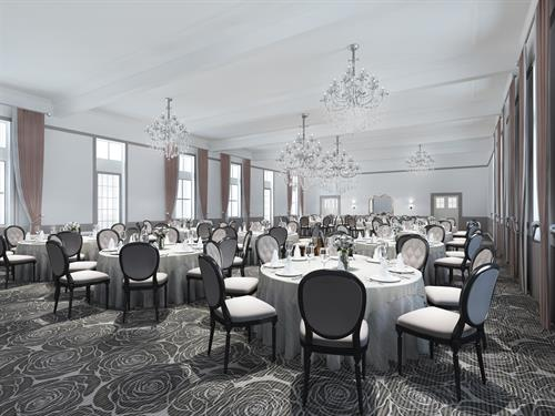 The recently renovated Victoria Room