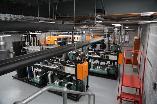 Supermarket industrial Plantroom