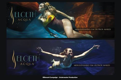 Underwater Advertise & Campaigns Photography and Video