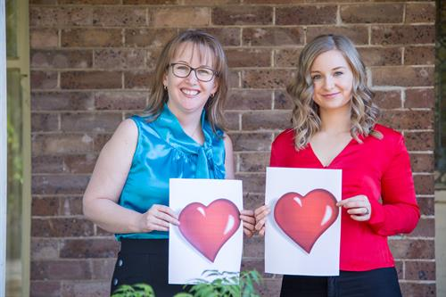 Fiona Kane and Rebecca Varcoe, Nutritionists