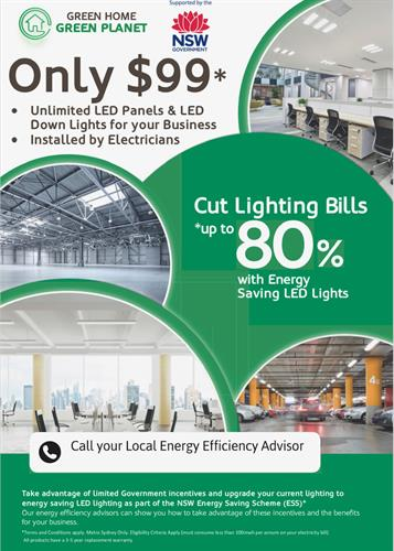 Only $99 Unlimited LED Lighting