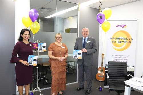 Book launch with VIPs Hon David Elliott & Deputy Mayor Reena Jethi