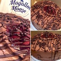 Mogollon Moose Cacao Raspberry Cake