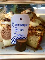 Cinnamon Goat Cheese Coffee Cake