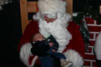 Santa comes to Winterfest