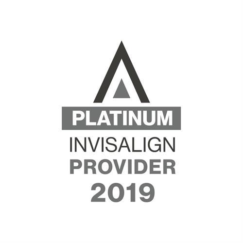 2019 Invisalign Platinum Provider
