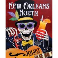2019 New Orleans North Festival Poster