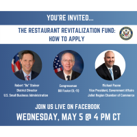 2021 Restaurant Revitalization Fund Video Conference