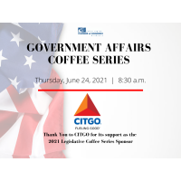 2021 Legislative Coffee Series: June 24 with local elected officials