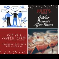 2021 October Business After Hours @ Juliet's