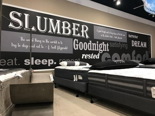 Custom wall graphics / lettering