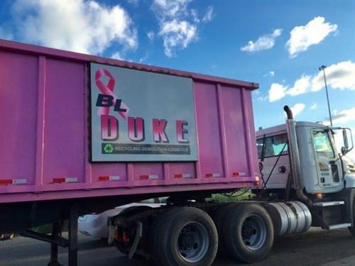 B.L. Duke Raises Breast Cancer Awareness