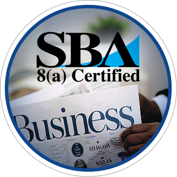 SBA 8a Certified Minority Owned Small Business
