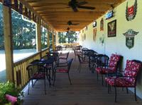 Enjoy the 80 ft. covered patio year round!
